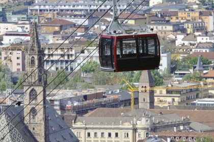 The Ritten cable car