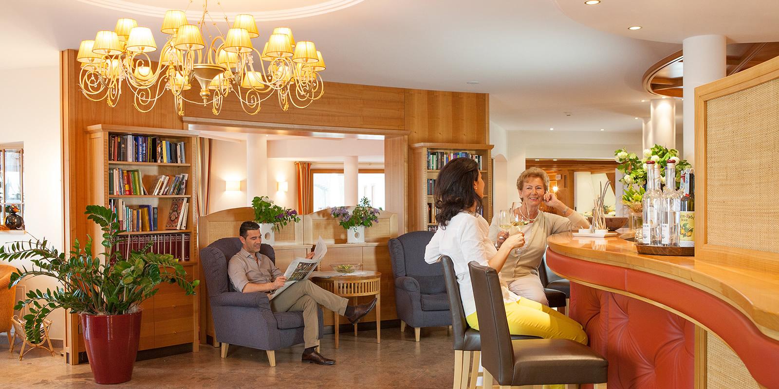 Bar Lounch Bereich Hotel Weihrerhof