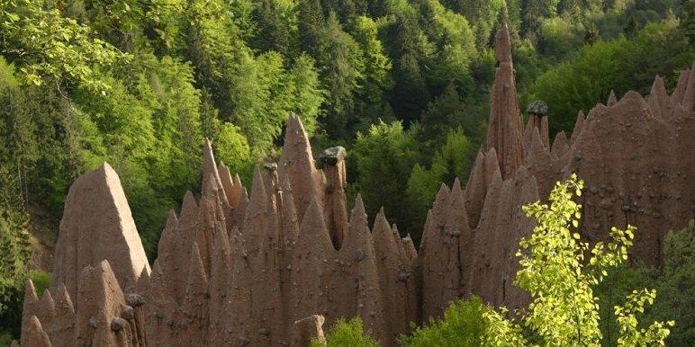 Erdpyramiden bei Oberbozen
