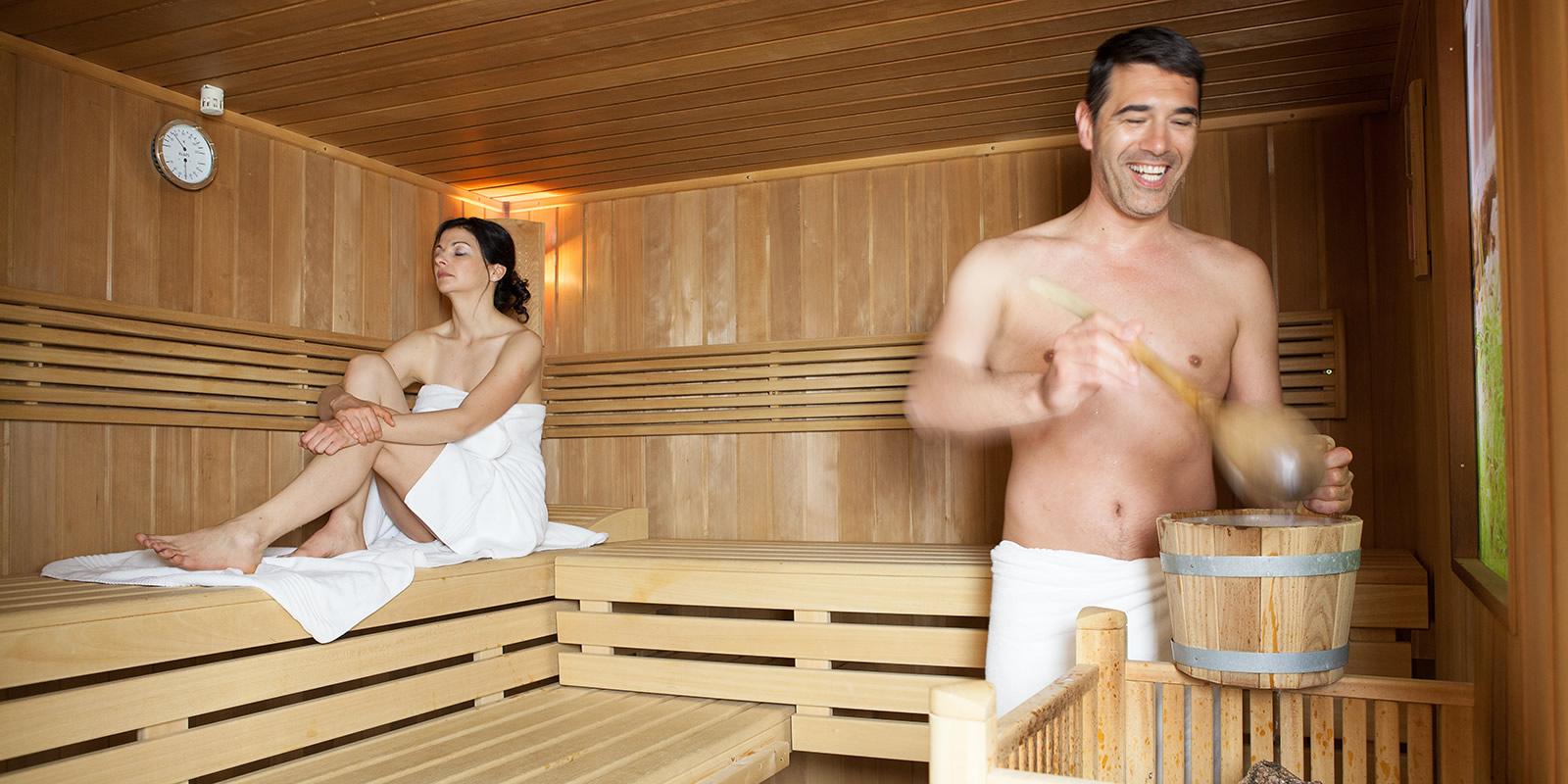 Hotel finnische Sauna