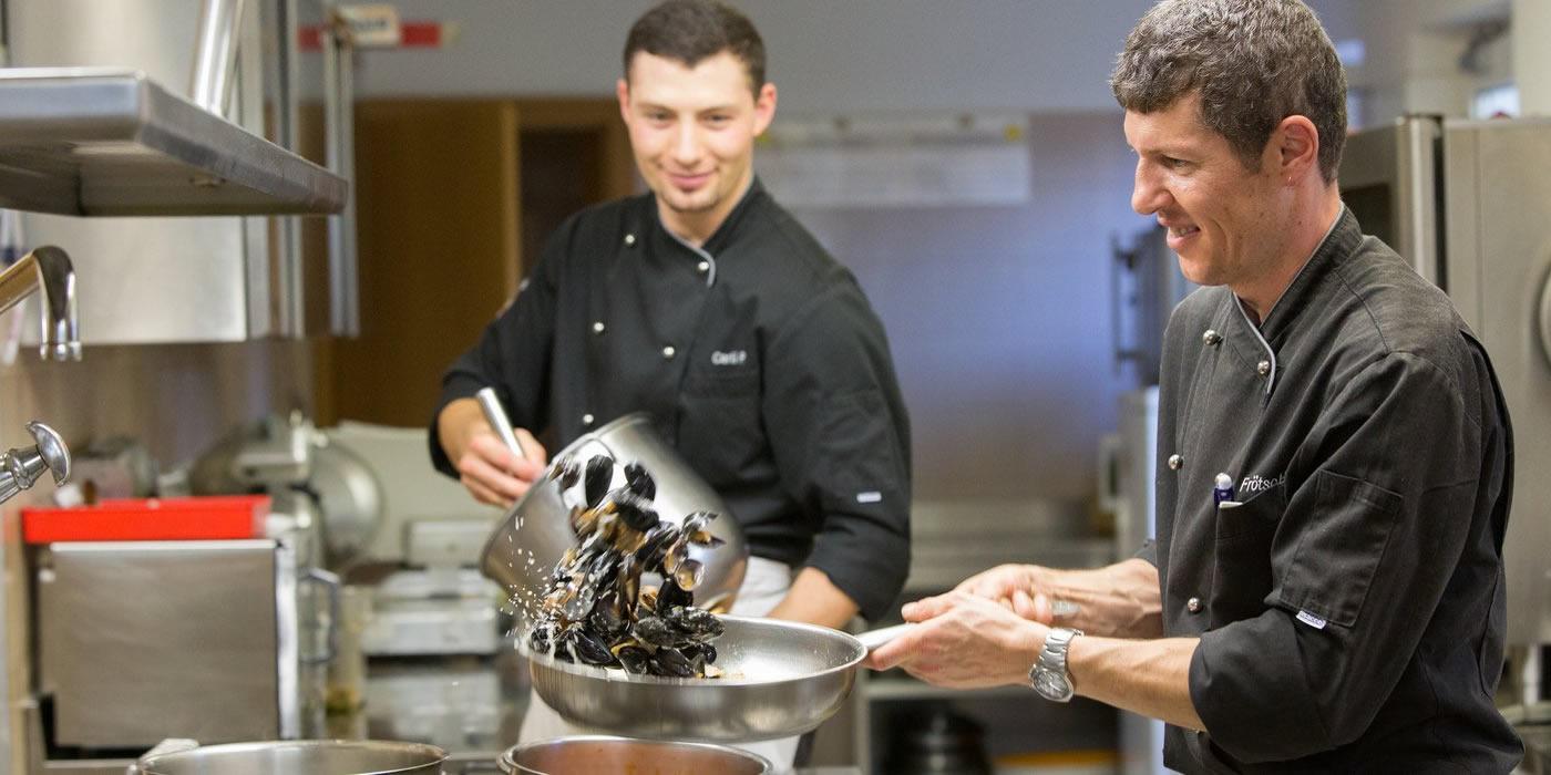 Gourmetküche im Hotel Weihrerhof