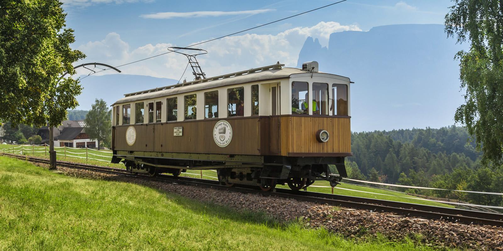 historische Rittner Bahn